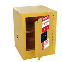 Tủ đựng hóa chất chống cháy 10 Gallon – 38 lít, cửa không tự đóng Model: WA810100 Hãng sản xuất: Sysbel - Trung Quốc Xuất xứ: Trung Quốc