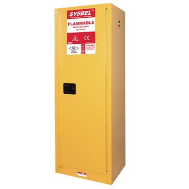 Tủ đựng hóa chất chống cháy 22 Gallon – 83 lít, cửa không tự đóng Model: WA810220 Hãng sản xuất: Sysbel - Trung Quốc Xuất xứ: Trung Quốc