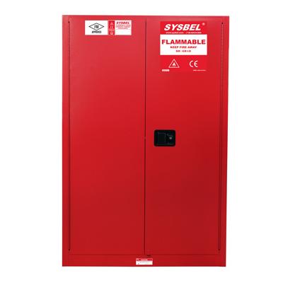 Tủ chứa dung môi gây cháy Combustible Cabinet 60 Gallon – 227 lít, cửa tự đóng Model: WA810601R Hãng sản xuất: Sysbel - Trung Quốc Xuất xứ: Trung Quốc