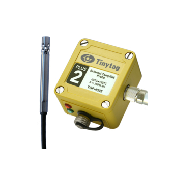 Tinytag Plus 2 Logger with Temperature/Relative Humidity Probe (-25 to +85°C/0 to 100% RH)