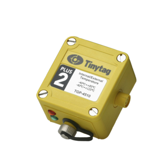 Tinytag Plus 2 Temperature Logger with Integral Sensor and for Thermistor Probe (-40 to +85°C/-40 to +125°C) TGP-4510